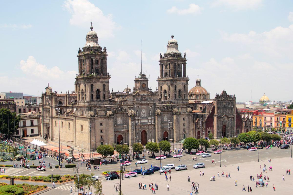 Los trabajos de restauración en la Catedral Metropolitana comenzaron en noviembre de 2020. Foto Ricardo Sánchez/DLF